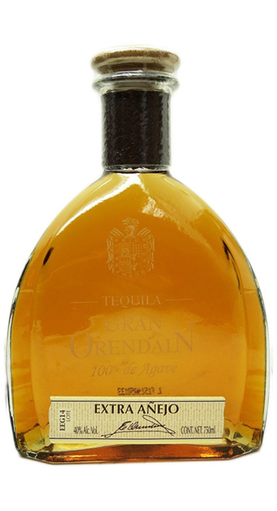 Bottle of Gran Orendain Extra Añejo