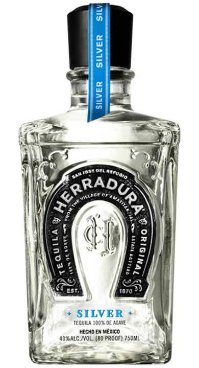 Bottle of Herradura Silver