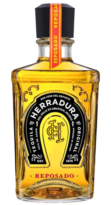 Bottle of Herradura Reposado