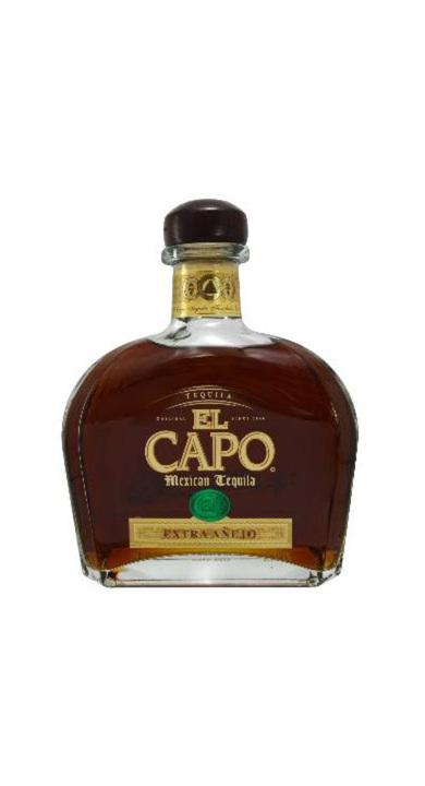 Bottle of El Capo Extra Añejo