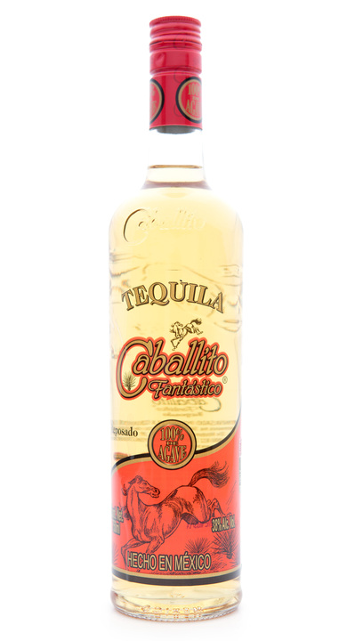 Bottle of Caballito Fantastico Reposado