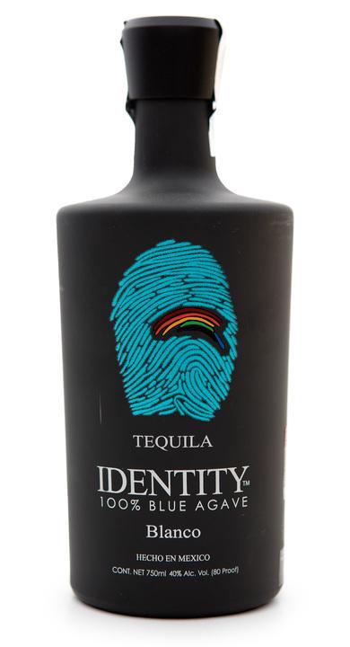 Bottle of Identity Tequila Blanco