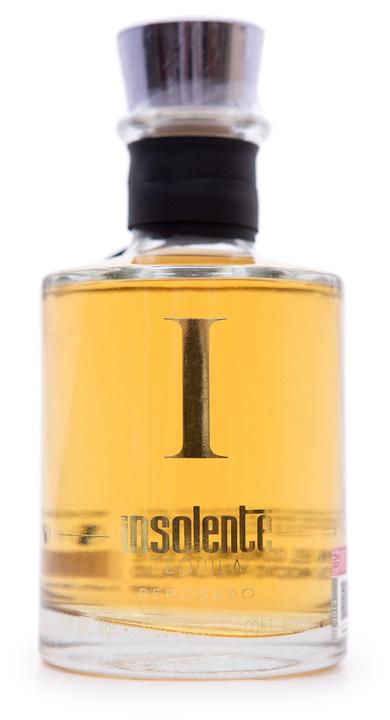 Bottle of Insolente Reposado