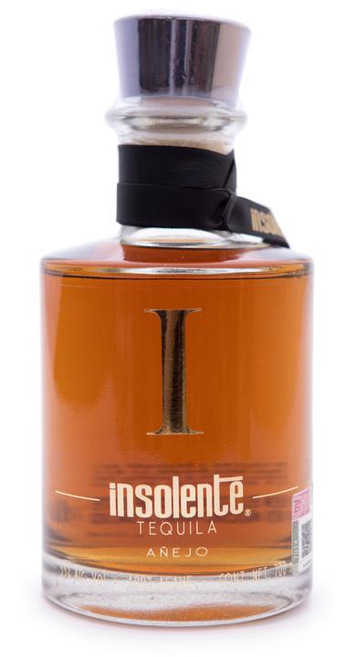 Bottle of Insolente Añejo