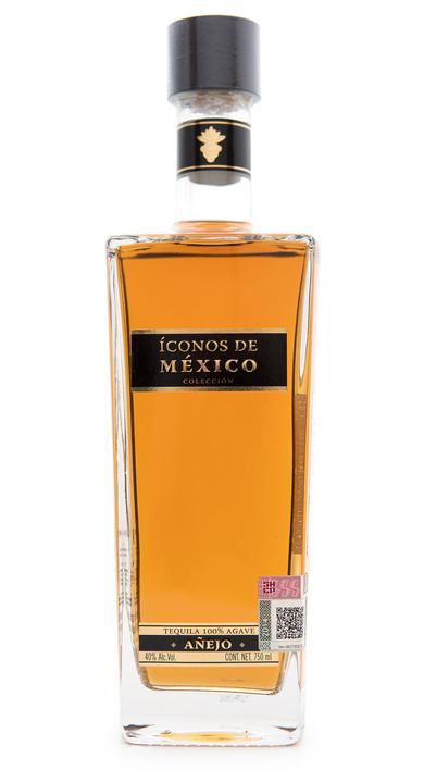 Bottle of Iconos de Mexico Añejo