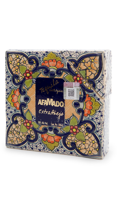 Bottle of Afamado Tequila Extra Añejo