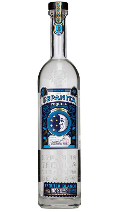 Bottle of Espanita Tequila Blanco