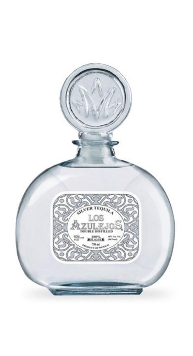 Bottle of Los Azulejos Silver