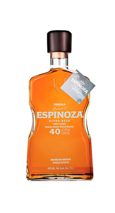Bottle of Espinoza Ultra Aged 40