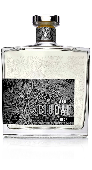 Bottle of Tequila Ciudad Blanco