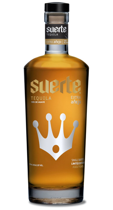 Bottle of Suerte Extra Añejo Kings Crown Edition (2016)