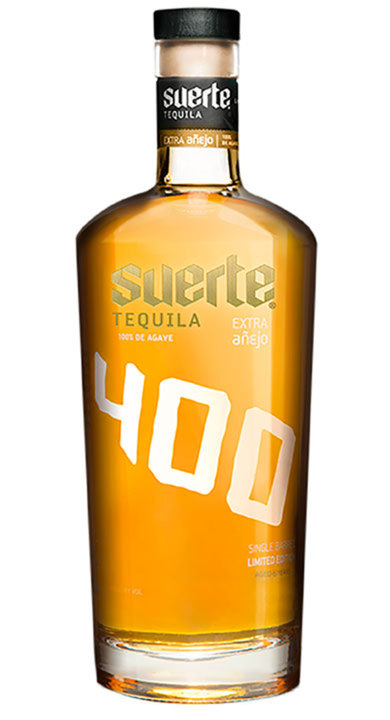 Bottle of Suerte Extra Añejo 400 Edition (2015)