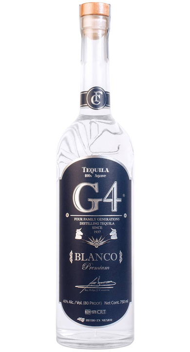 Bottle of Tequila G4 Blanco