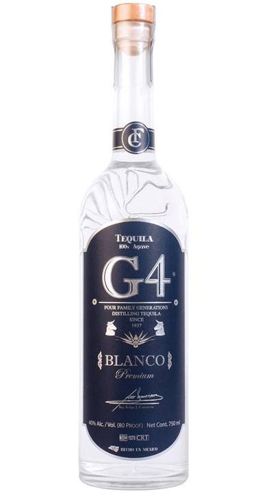 Bottle of Tequila G4 Blanco