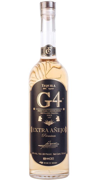 Bottle of Tequila G4 Extra Añejo