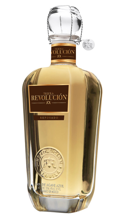 Bottle of Revolucion Reposado