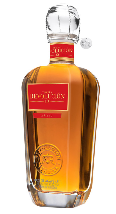 Bottle of Revolucion Añejo