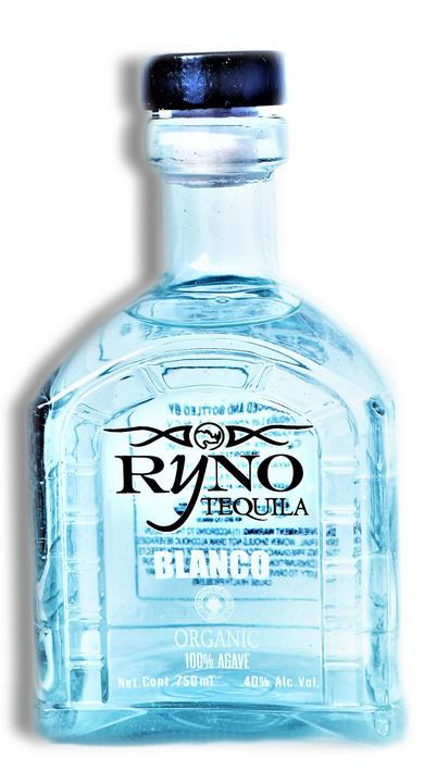 Bottle of Ryno Tequila Blanco