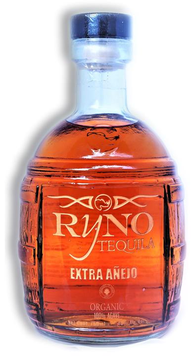 Bottle of Ryno Tequila Extra Añejo