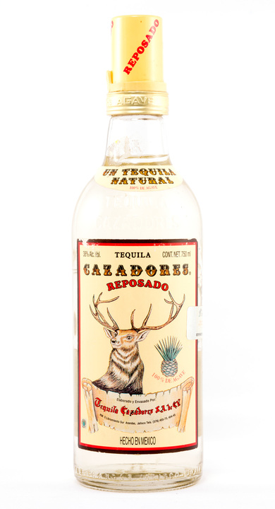 Bottle of Cazadores Reposado (NOM 1128)
