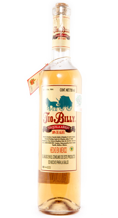 Bottle of Tio Billy Añejo
