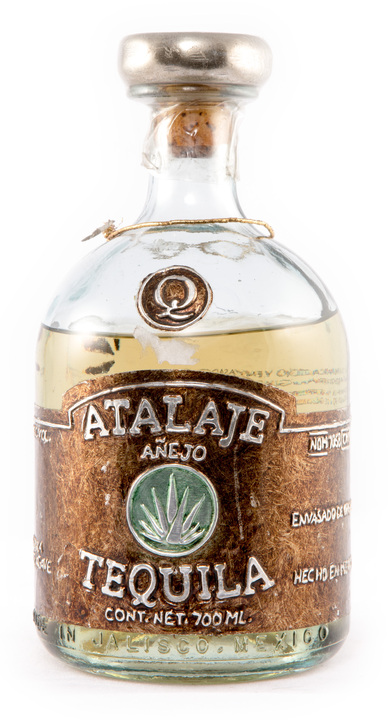 Bottle of Tequila Atalaje Añejo