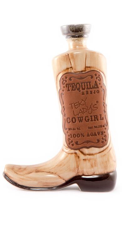Bottle of Teky Lady's Cowgirl Añejo