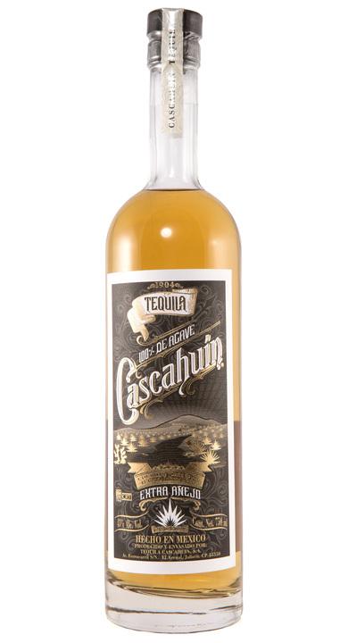 Bottle of Cascahuín Extra Añejo