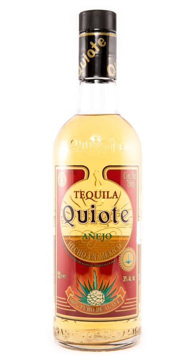 Bottle of Quiote Tequila Añejo