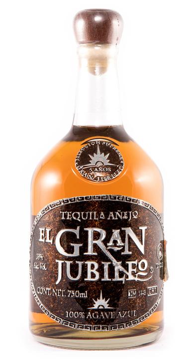 Bottle of El Gran Jubileo Añejo (5 yr)