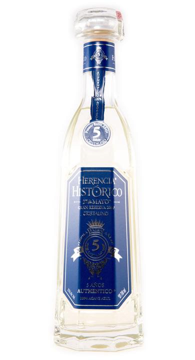 Bottle of Herencia Histórico 5 Años Cristalino