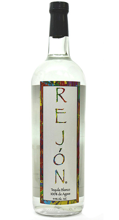Bottle of Rejon Tequila Blanco