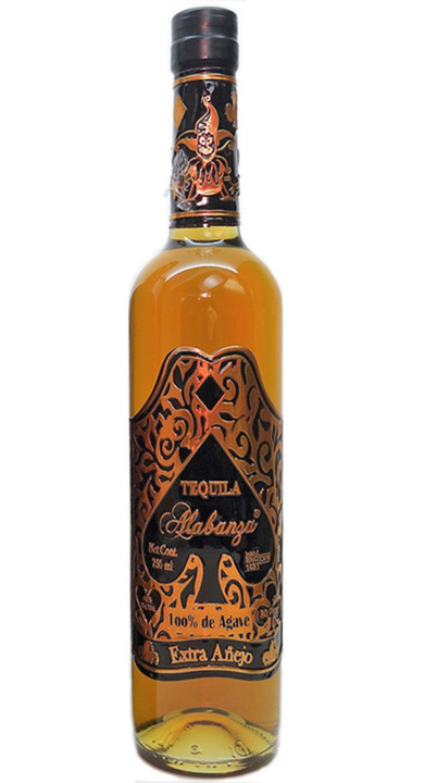 Bottle of Tequila Alabanza Extra Añejo