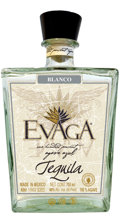 Bottle of Evaga Blanco