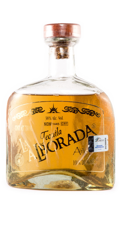 Bottle of La Alborada Añejo