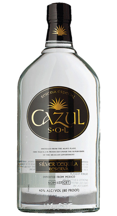 Bottle of Cazul Sol Silver
