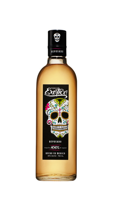 Bottle of Exotico Reposado