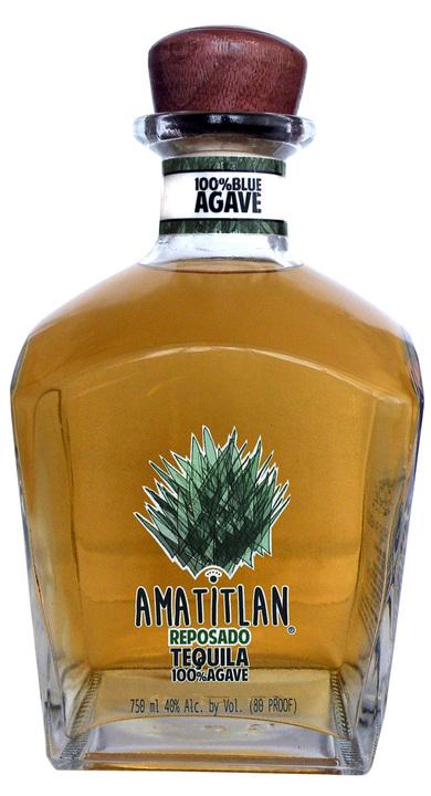 Bottle of Amatitlan Tequila Reposado