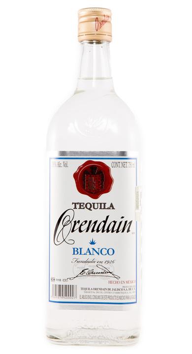Bottle of Orendain Tequila Blanco