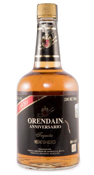 Bottle of Orendain Anniversario Añejo