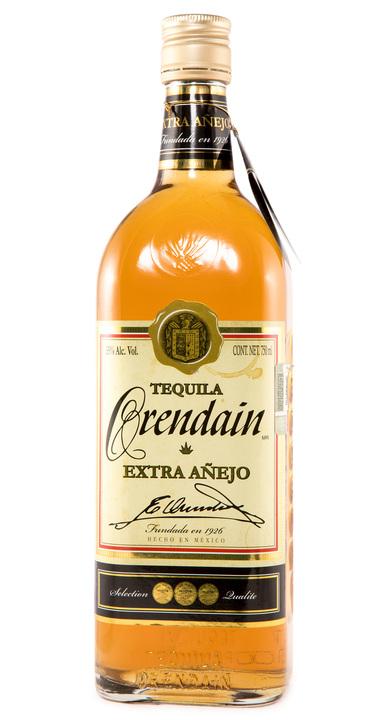 Bottle of Orendain Tequila Extra Añejo