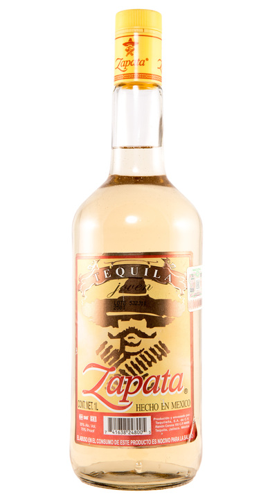 Bottle of Zapata Tequila Joven