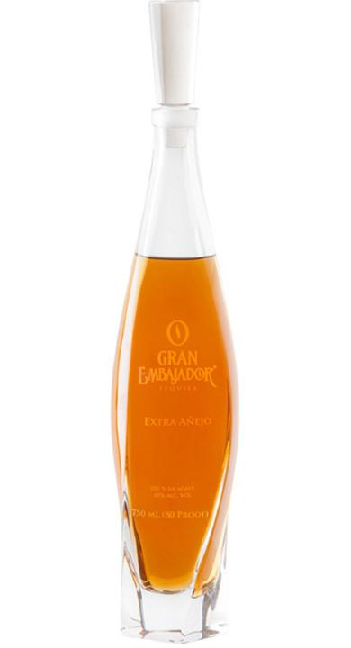 Bottle of Gran Embajador Extra Añejo