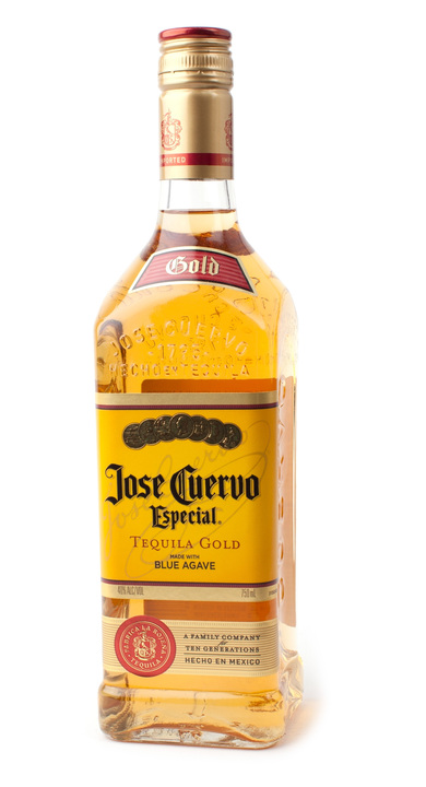 Bottle of Jose Cuervo Especial Gold