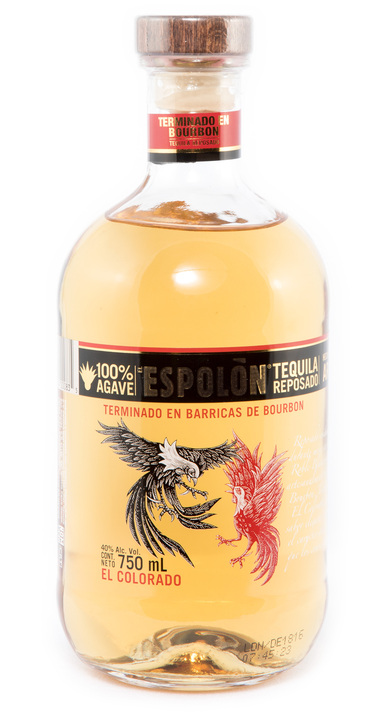 "Bottle of Espolon ""El Colorado"" Reposado"