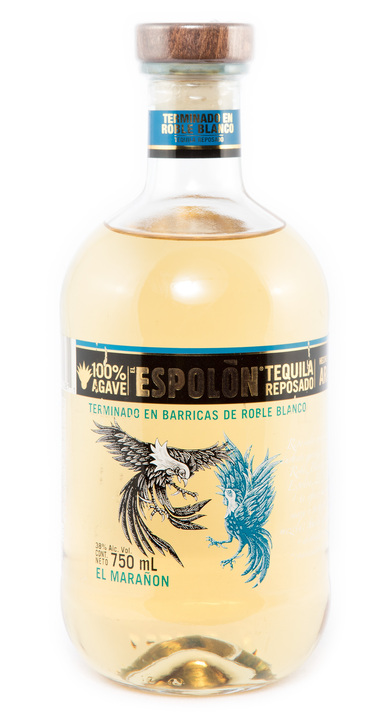 "Bottle of Espolon ""El Marañon"" Reposado"