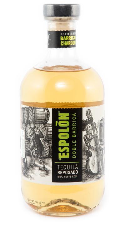 Bottle of Espolon Doble Barrica Reposado - Chardonnay