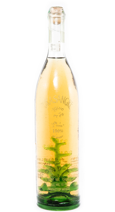 Bottle of Purasangre Agave Series Reposado