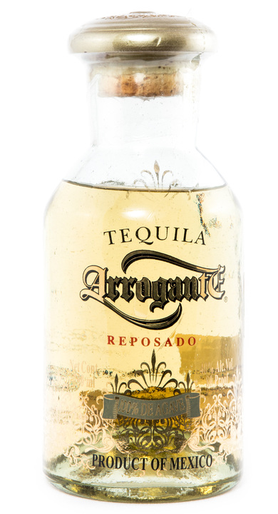 Bottle of Arrogante Reposado
