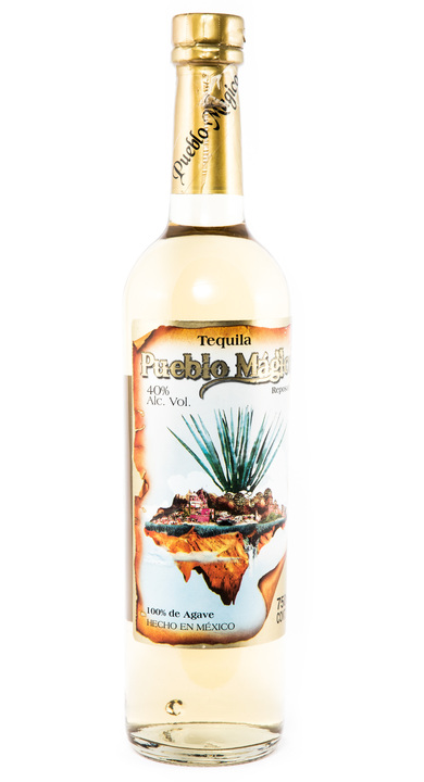 Bottle of Pueblo Magico Tequila Reposado 100% de Agave